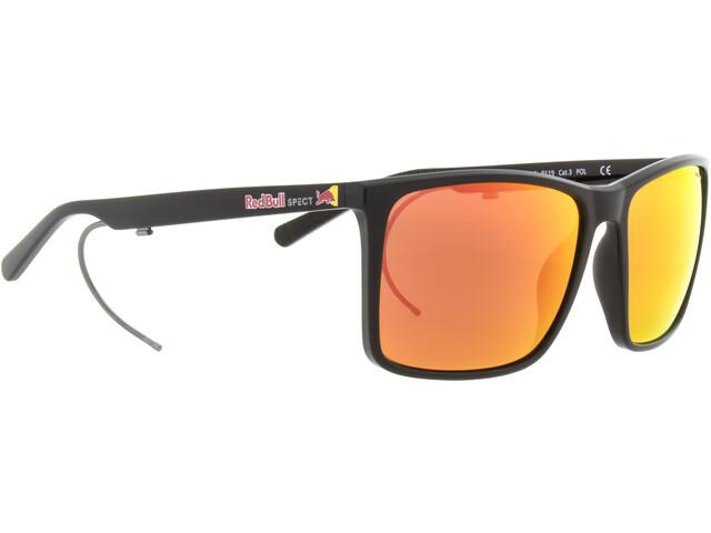 Red Bull SPECT Bow Lunettes de soleil Homme, black/brown-red